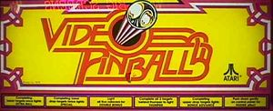 Video Pinball marquee