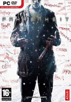 Box artwork for Fahrenheit.