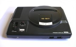 The console image for Genesis / Mega Drive.