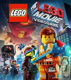 Box artwork for The LEGO Movie Videogame.