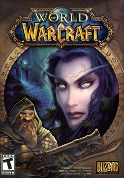 Box artwork for World of Warcraft.