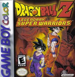 Box artwork for Dragon Ball Z: Legendary Super Warriors.
