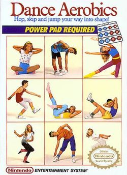 Box artwork for Dance Aerobics.