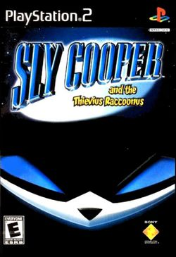 Box artwork for Sly Cooper and the Thievius Raccoonus.
