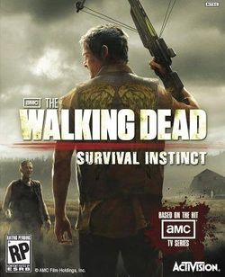 Box artwork for The Walking Dead: Survival Instinct.