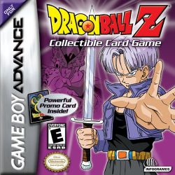 Box artwork for Dragon Ball Z: Collectible Card Game.