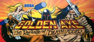 Golden Axe: The Revenge of Death Adder marquee