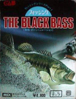 Box artwork for The Black Bass.