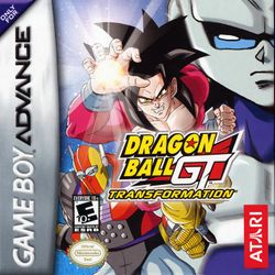 Box artwork for Dragon Ball GT: Transformation.