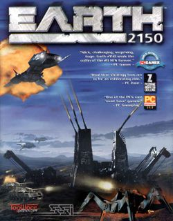 Box artwork for Earth 2150.