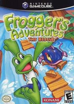 Box artwork for Frogger's Adventures: The Rescue.