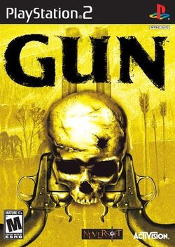 Box artwork for Gun.
