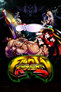 Box artwork for Fight'N Rage.