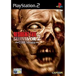 Box artwork for Resident Evil: Survivor 2: Code: Veronica.