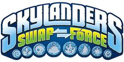 Box artwork for Skylanders: Swap Force.