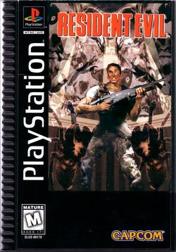 Box artwork for Resident Evil.