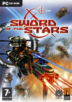Box artwork for Sword of the Stars.