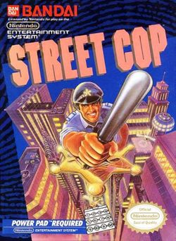 Box artwork for Street Cop.