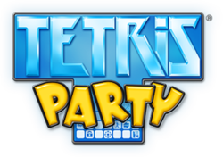 Box artwork for Tetris Party.