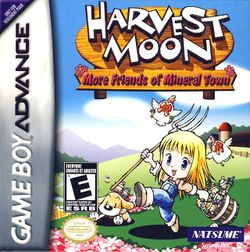 Box artwork for Harvest Moon: More Friends of Mineral Town.