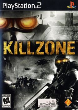 Box artwork for Killzone.