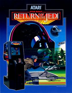 Box artwork for Return of the Jedi.