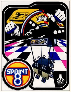 Box artwork for Sprint 8.