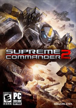 Box artwork for Supreme Commander 2.
