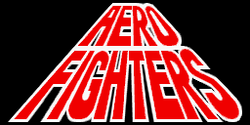 The logo for Aero Fighters.