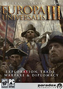 Box artwork for Europa Universalis III.