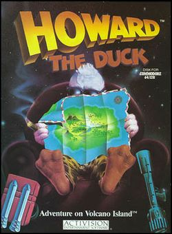 Box artwork for Howard the Duck.