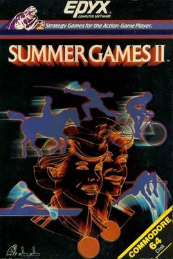 Box artwork for Summer Games II.