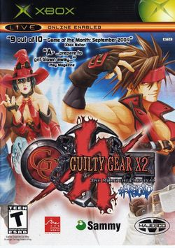 Box artwork for Guilty Gear XX ♯Reload.