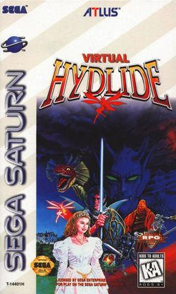 Box artwork for Virtual Hydlide.