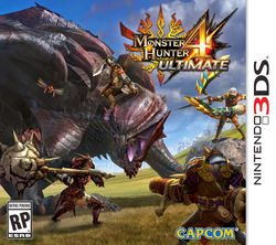 Box artwork for Monster Hunter 4.