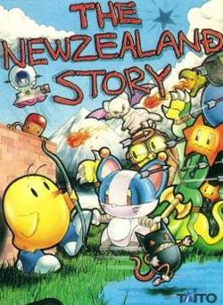 Box artwork for The New Zealand Story.