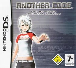 Box artwork for Another Code: Two Memories.