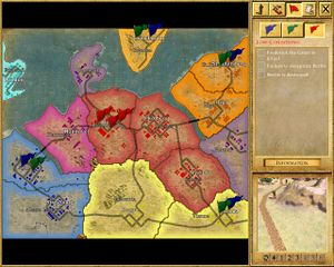 Empire earth iithe seven years war strategywiki the video game the strategic map gumiabroncs Choice Image