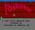 Renegade NES title.png