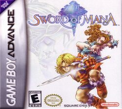 Box artwork for Sword of Mana.