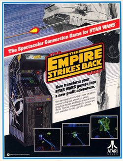 Box artwork for The Empire Strikes Back.