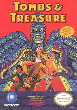 Box artwork for Tombs & Treasure.
