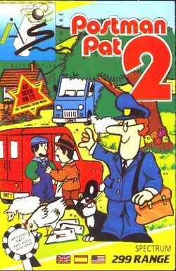 Box artwork for Postman Pat 2: Phew, What a Scorcher.