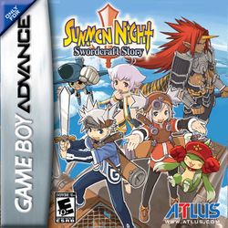 Box artwork for Summon Night: Swordcraft Story.