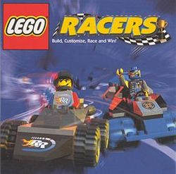 Box artwork for Lego Racers.