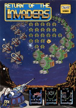 Box artwork for Return of the Invaders.
