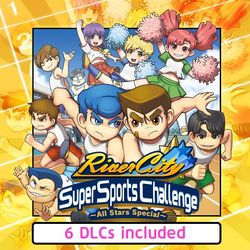 Box artwork for River City Super Sports Challenge ~All Stars Special~.