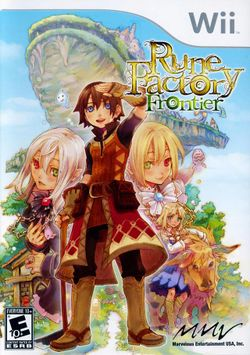 Box artwork for Rune Factory: Frontier.