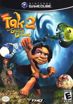 Box artwork for Tak 2: The Staff of Dreams.