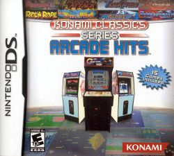 Box artwork for Konami Classics Series: Arcade Hits.